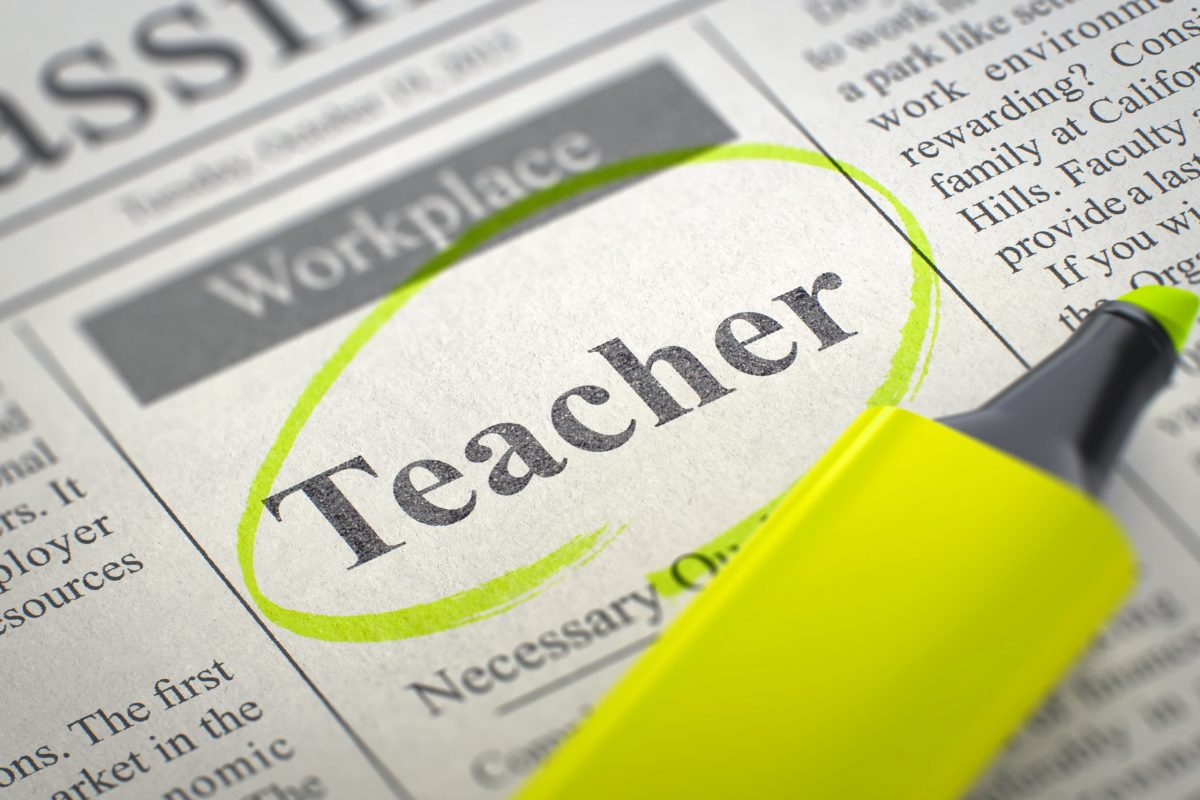 teacher wanted education licensing