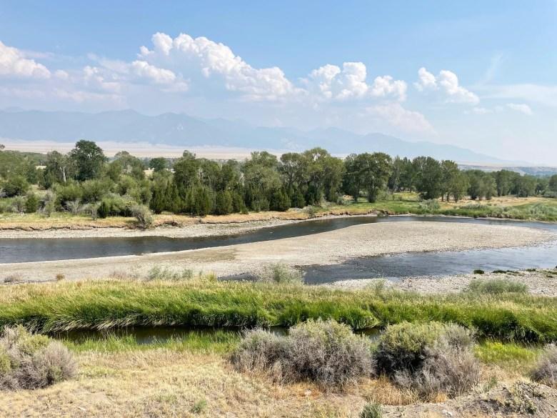 Jefferson River Montana drought