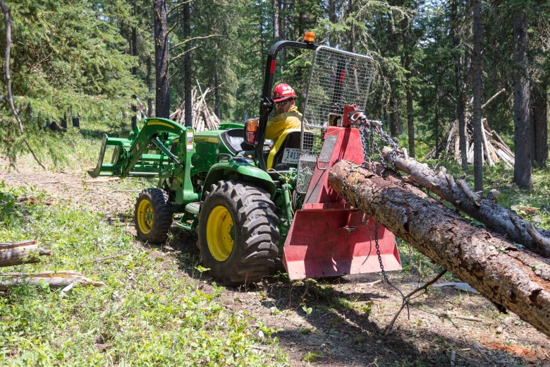 Fuel reduction Yellowstone National Park wildfire