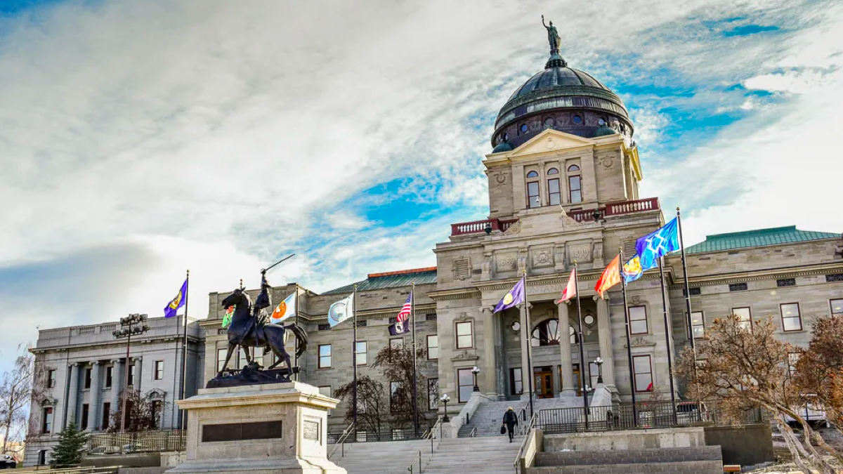 Montana state capitol Helena