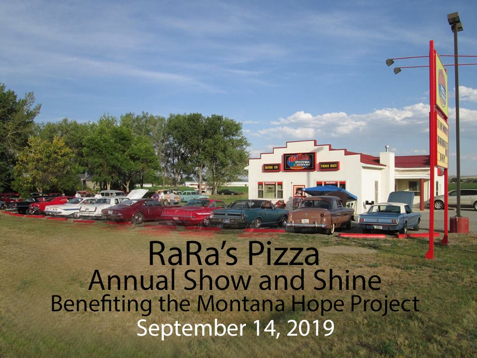 RaRa's Pizza- Annual Show and Shine- Billings, MT