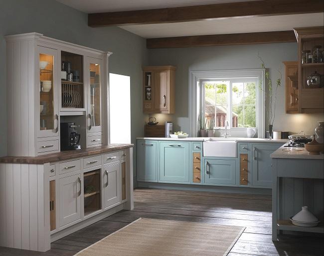 Beautiful Mereway British Kitchens Montana Kitchens