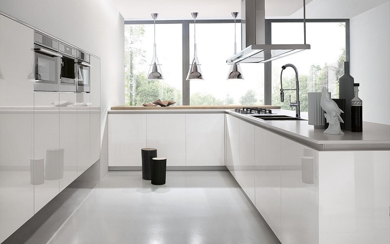 white kitchen, aster cucine kitchens, atelier