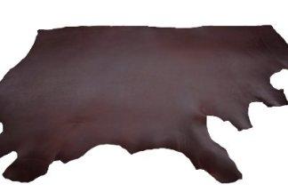latigo leather, premium latigo, latigo for saddles, burgundy latigo
