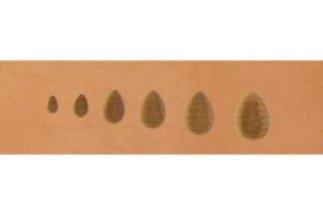 barry king thumbprint, medium horizontal pear shader