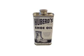 leather oil, shoe oil, boot oil, huberd's shoe oil