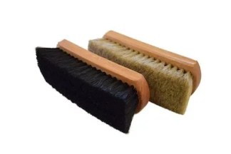 shine brush, brush for leather, brush for shoe polish