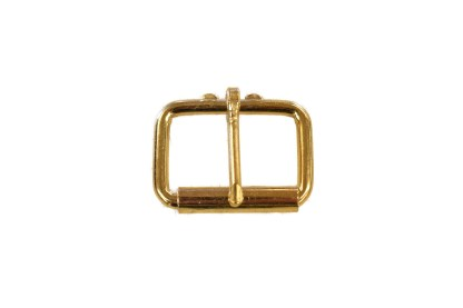 roller buckle, brass buckle, leather hardware