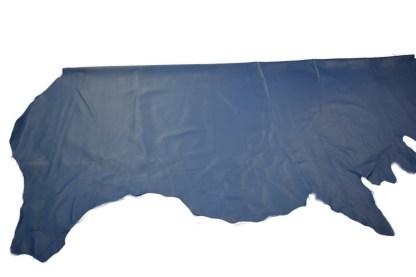 blue leather, chrome tan leather, bag leather