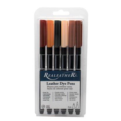 leather dye, leather dye pens, realeather dye pens