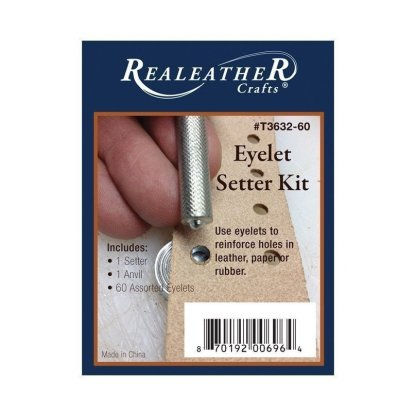 eyelet setter, assorted eyelets, eyelet kit