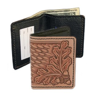 realeather, silver creek, id case, wallet, leather kit