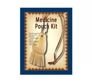 leather kit, medicine pouch, leather bag, bag kit