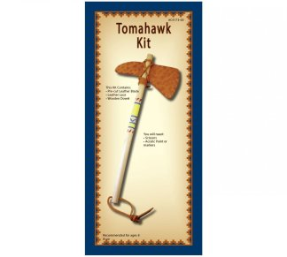 leather kit, tomahawk, realeather, silver creek