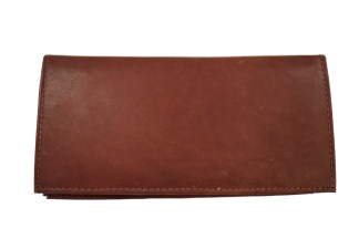 leather checkbook, AJ checkbook