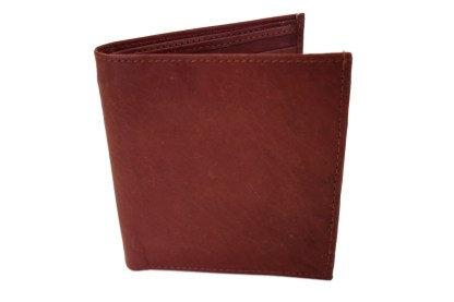 brown wallet, leather wallet, mahogany leather