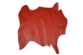 lining leather, calf leather, red leather
