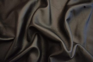 black deerskin, black deer leather
