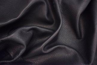 Black Apache Bison Leather