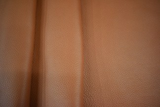 Tobacco bullhide leather