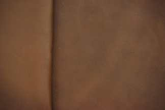 brown pebble grain leather