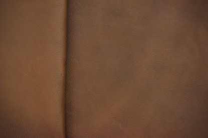 brown pebble grain leather