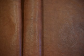 Chocolate Milled Hermann Oak Leather