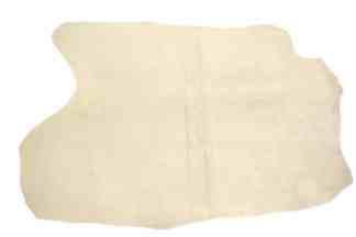 Mule hide leather, apron split