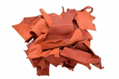 Red Scrap Leather