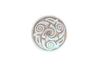 Round concho, Lindesfarne concho, Spiral concho