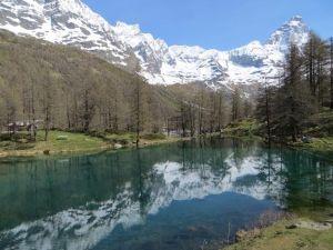Lago Blu Cervinia Valle d'Aosta