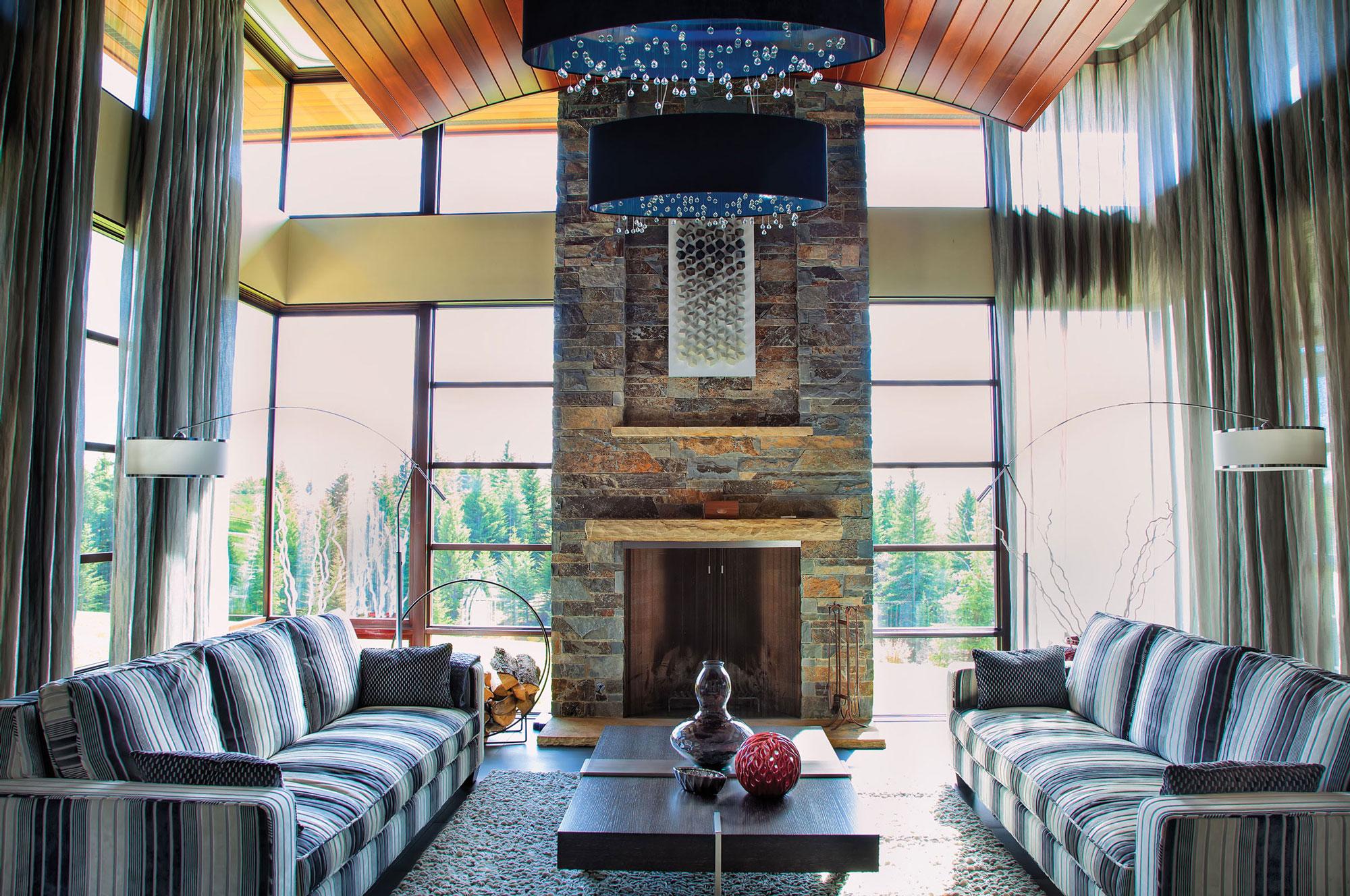 Fireplaces Montana Rockworks