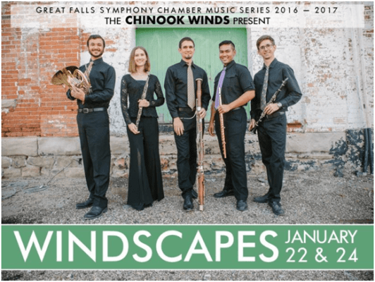 Music group, the Chinook Winds