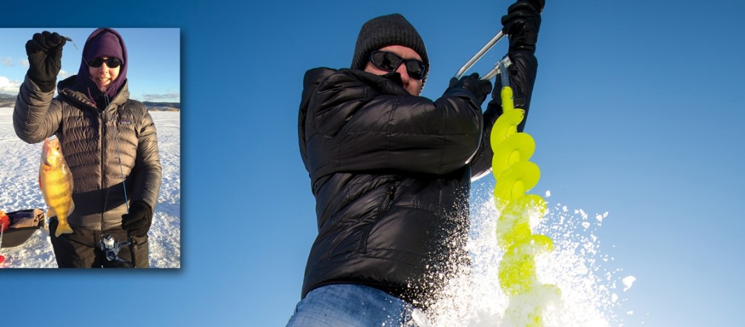Give Hard Water Fishing A Try