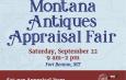 Online Event Calendar Information /// Montana Antiques Appraisal Fair