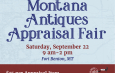 Online Event Calendar Information /// Montana Antiques Appraisal Fair