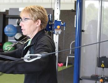 Beth Munsterteiger Trains Seniors in Exercise Techniques