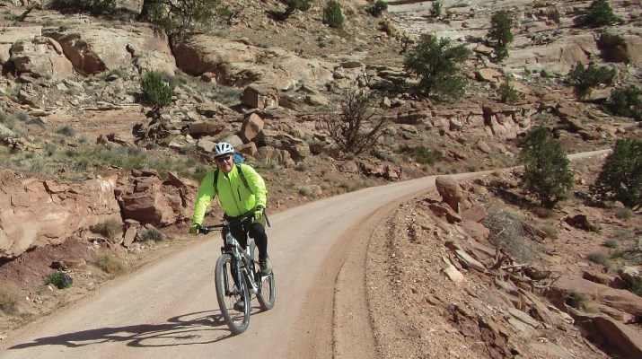 Wheeling the White Rim Trail