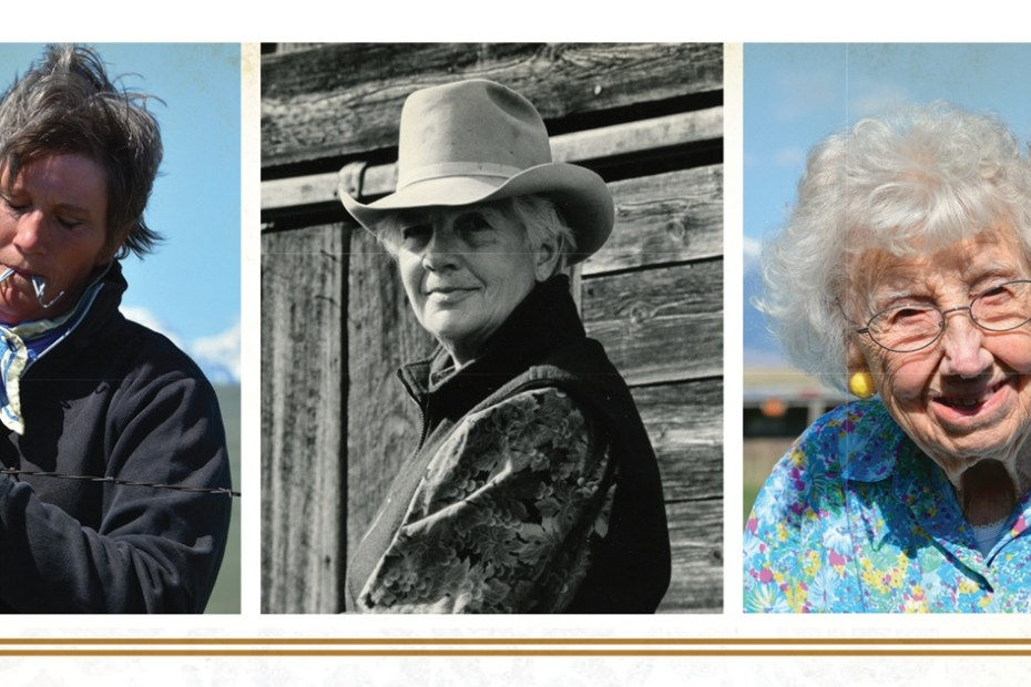 Montana Women from the Ground Up: Images from the Book Cover