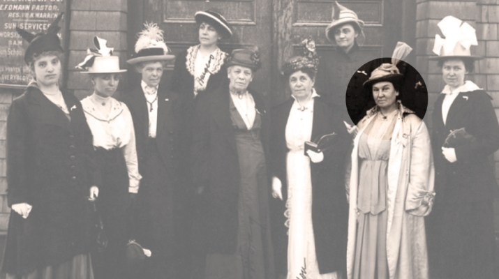 Mary Long Alderson Montana Suffragist