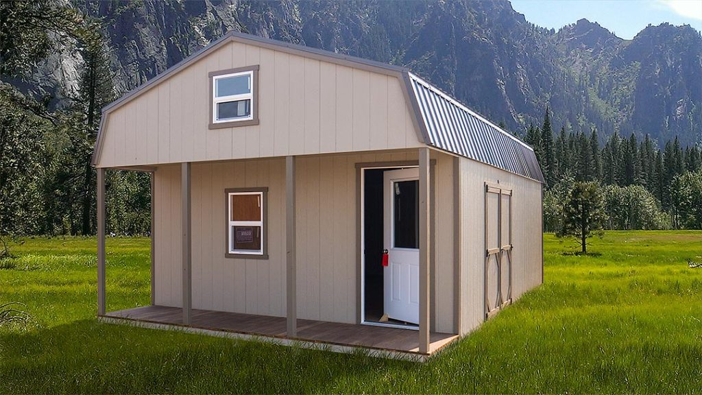 Gambrel Cottage Tiny Home