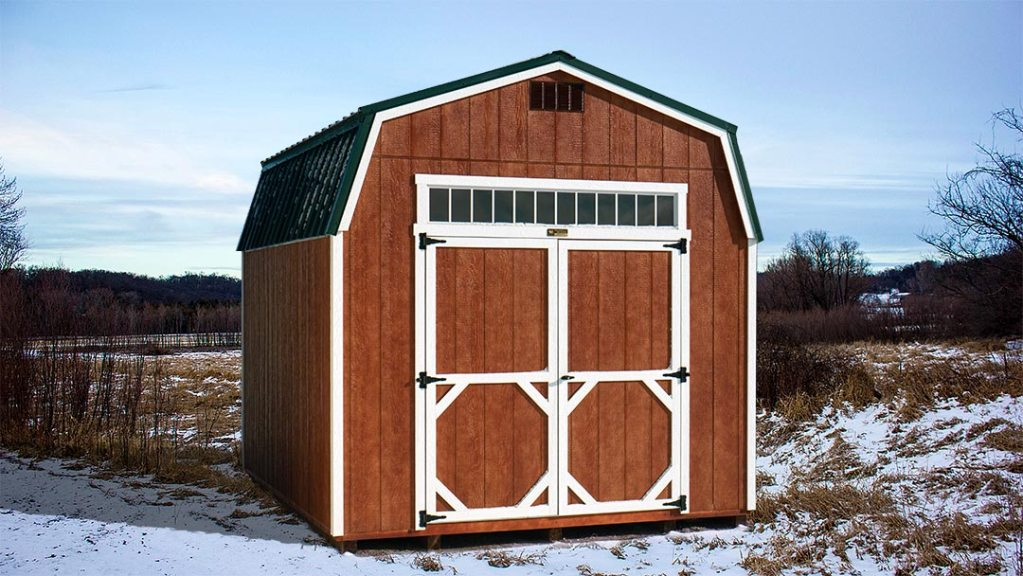 Barn Style Shed Hi-Side