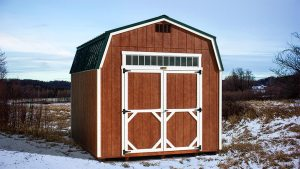 Hi-Side Storage Shed