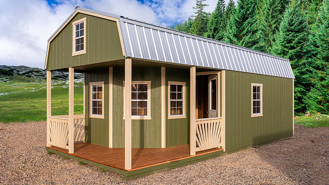 Gambrel Outfitter Cabin