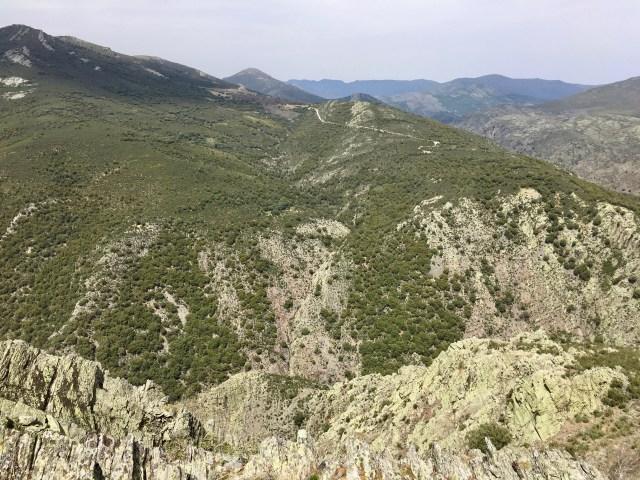 Cañón del Jarama visto desde el Cuchillar del Asomante.