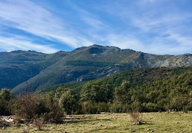 Pico de la Tornera (1865 m).