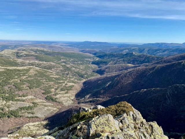 Valle del río Lillas y Hayedo de Tejera Negra.