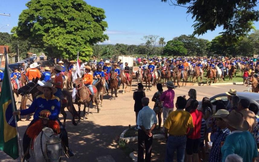 Cavalgada Ecológica do Rotary Clube de Vazante completa 11 anos