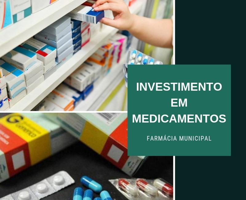 Prefeitura de Vazante adquire 75 mil reais em medicamentos