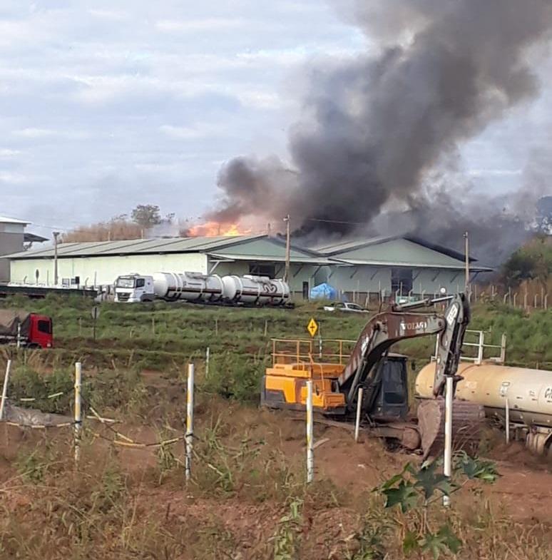 Incêndio é registrado na Kinross; empresa emite nota de esclarecimento